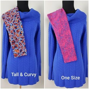 Chaus Sweater & EITHER TC or One Size LLR Leggins